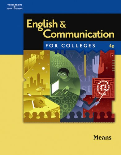 Download English and Communication for Colleges Pdf