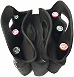 6 pack cooler neoprene - Polar Pouch 6-Pack Tote, Carrier, Bag and Case Extra Thick Insulated Neoprene with Large Center Pocket and Heavy Duty Zipper