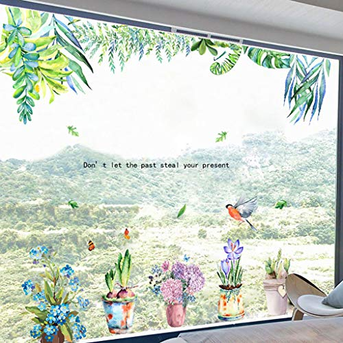 (WOCACHI Wall Stickers Decals Inkjet Removable Cartoon Wall Stickers Home Interior Wall Stickers Art Mural Wallpaper Peel & Stick Removable Room Decoration Nursery Decor)
