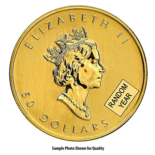 1979 CA - Present 1oz Gold Maple Leaf $50 Brilliant Uncirculated Random Year