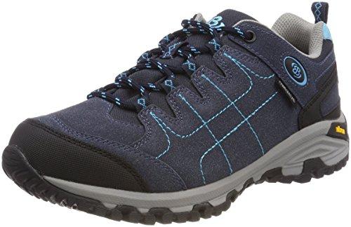 Bruetting Mount Shasta, Zapatos de Low Rise Senderismo Para Mujer Azul (Marine/tuerkis)