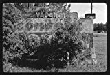 Vintography 8 x 12 BW Photo of: Comfort Motel sign billboard? wreck Route 17, Seals, Georgia 1979 Roadside America Margolies, John, 65f