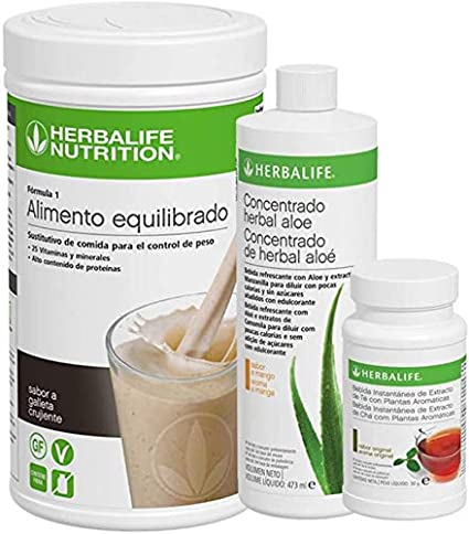 Herbalife packs desayuno saludable (Galleta crujiente)