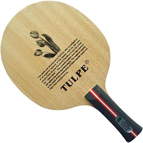 Kokutaku Tulpe t-carbon with強力な速度と高コントロールFL Table Tennisブレード