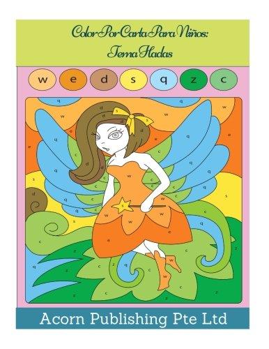 Color Por Carta Para Niños: Tema Hadas
