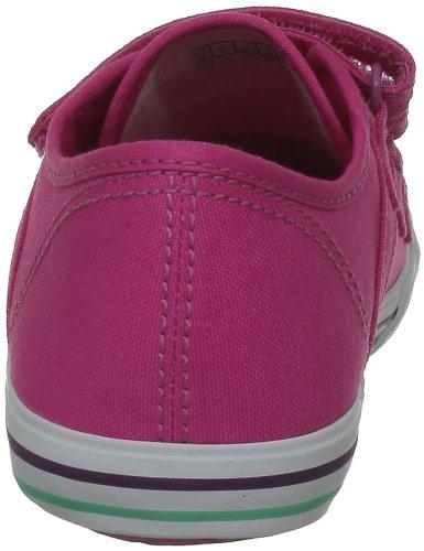 Le Coq Sportif Saint Malo Ps Strap 1311068_COQ - Zapatillas de tela para niños, color negro, talla 28 Fuchsia Purple