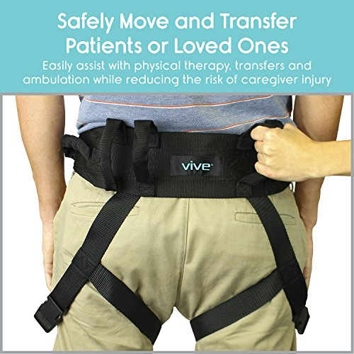 Transfer-Belt-with-Leg-Loops-by-Vive-Medical-Nursing-Safety-Gait-Assist-Device-Bariatrics-Pediatric-Elderly-Occupational-Physical-Therapy-Long-Strap-Quick-Release-Metal-Buckle-55-Inch