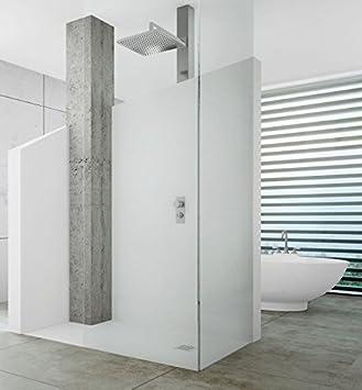 bodengleiche dusche 100x80 mineralguss begehbare dusche 80