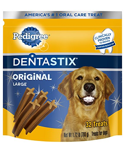 Dentastix Oral Care Treats for Dogs Large 1.72 lbs 32 Count
