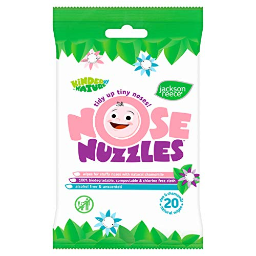 Jackson Reece Nose Nuzzles Wipes (8)