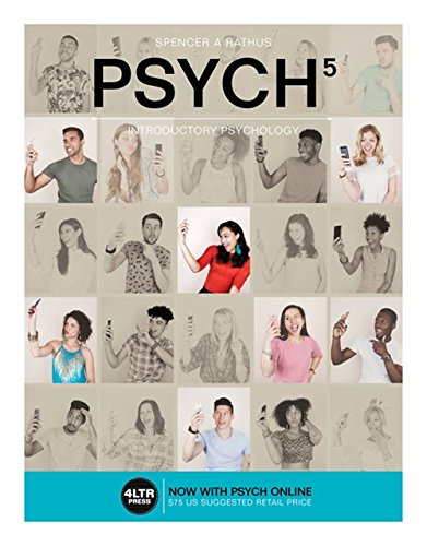 PSYCH 5, Introductory Psychology (Book Only)