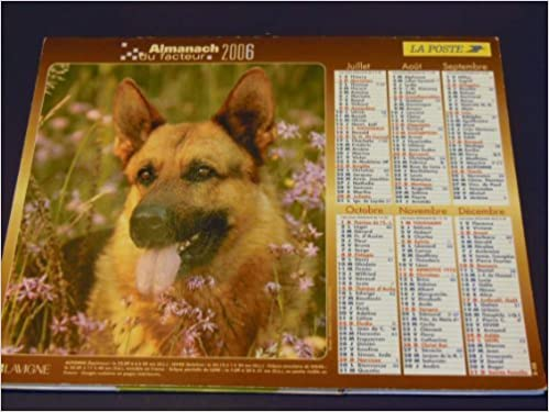 Calendrier Poste.Amazon Fr Calendrier La Poste Du 01 01 2006 Almanach Du