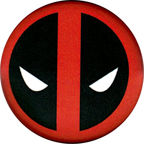 Deadpool - Logo - Marvel Comics - Pinback Button - Deadpool Pin
