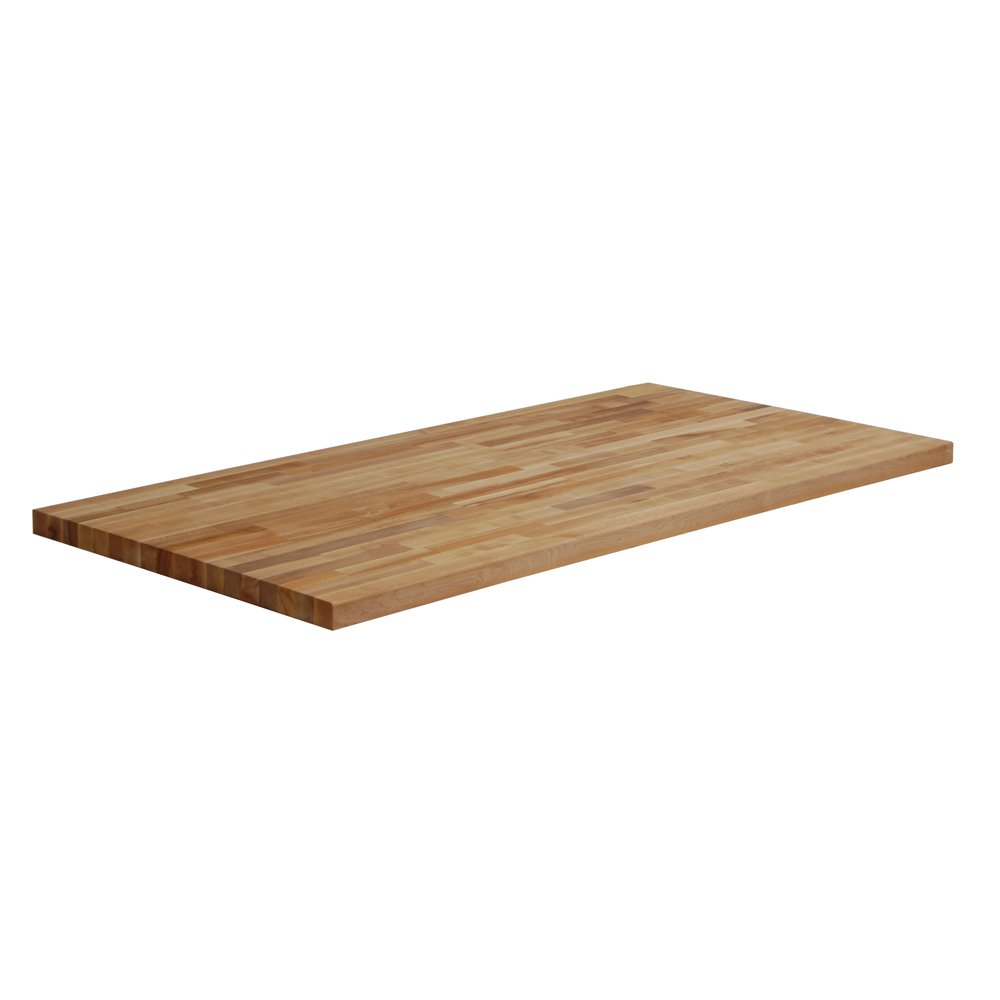Edsal BB3060 Butcher Block Wood Work Bench Top, 60'' Width x 30'' Depth, Maple