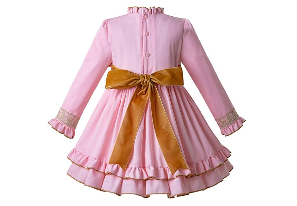 Christmas Dresses for Girls Lace Party with Headwear Christmas Costumes for Toddler Girls