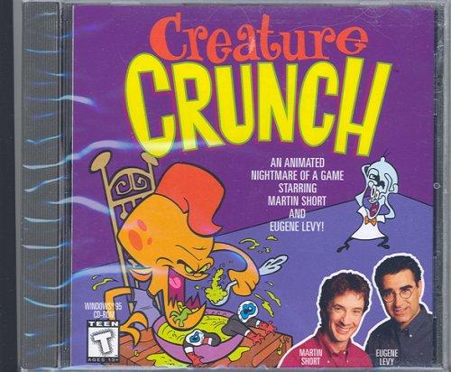 Creature Crunch --Jewel Case----