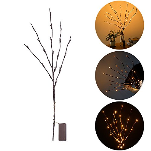 Outdoor Lighted Willow Tree in US - 6