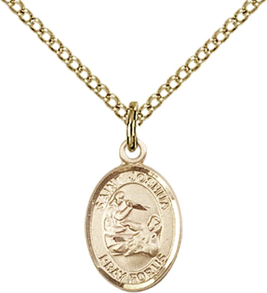 Gold Filled St 18 Chain Joshua Pendant Joshua Pendant Made in USA Jewels Obsession St