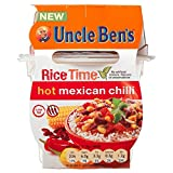 Uncle Ben's Rice Time Hot Mexican Chilli (300g) - Pack of 6