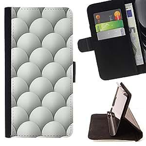 - Egg Scales Easter Dragon Golf - Estilo PU billetera de cuero del soporte del tir???¡¯????n [solapa de cierre] Cubierta- For Apple Iphone 5 / 5S £¨ Devil Case £©