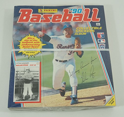 Amazon.com: 1990 Panini Baseball Stickers Album Baseball Case (120 Albums): Collectibles & Fine Art