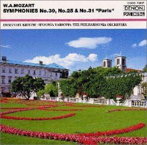 モーツァルト:交響曲39番/同第25番/同31番《パリ》(ザ・クラシック1200-7)