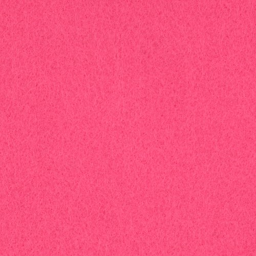 Foss Manufacturing Rainbow Classic Felt 72'' Craft Felt, Candy Pink, Fabric by The Yard