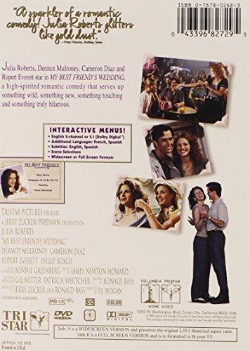 Amazon Com My Best Friend S Wedding Julia Roberts Dermot Mulroney Cameron Diaz Rupert Everett Philip Bosco P J Hogan Jerry Zucker Ronald Bass Best Friend S Productions Inc Movies Tv