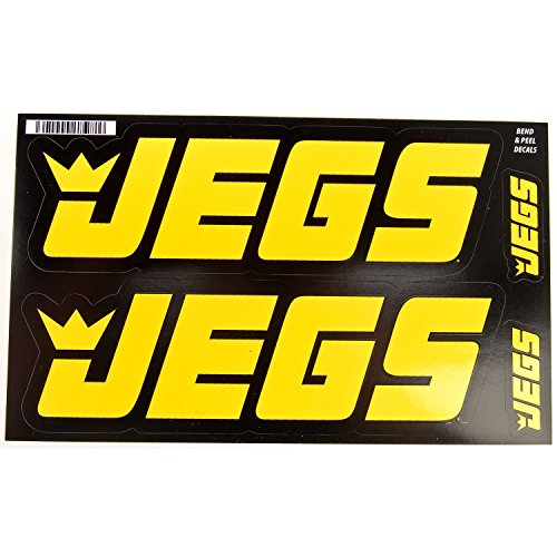 JEGS 100 JEGS Contingency Size Racing Decals Large: 2-3/4'' h x 8-3/4'' w by JEGS Apparel and Collectibles (Image #1)