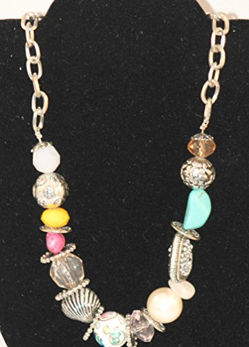 - Tri Color Shell Necklace