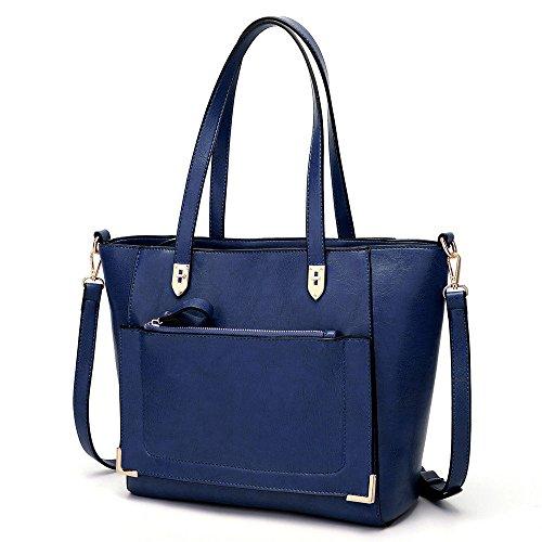 Fashion Oil Messenger Bag Gules GWQGZ All Handbag Match Blue Shoulder ZwHgBEpq