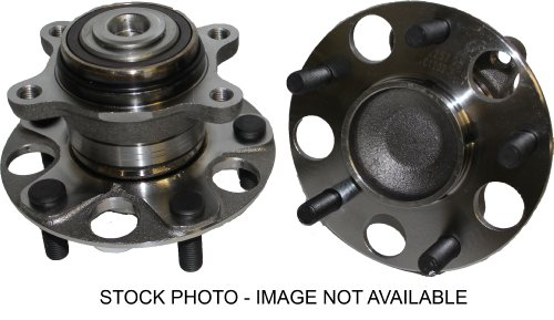 Brand New (Both) Rear Wheel Hub and Bearing Assembly for Alero, Grand Am, Malibu 5 Lug W/ABS (Pair) 512152 x2 ()