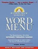 Random House Webster's Word Menu, Stephen Glazier, 0375700838