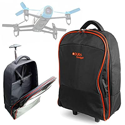 Lightweight Trolley Style Carry Case Compatible With Parrot Bebop - by DURAGADGET