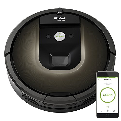 iRobot Roomba 980 Robot Vacuum with Wi-Fi Connectivity, Works with Alexa, Ideal for Pet Hair, Carpets, Hard Floors (Carpet Jet Cleaners)