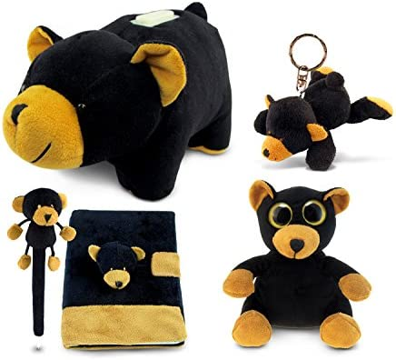 Amazon.com: Puzzled – Oso Negro Peluche Collection: Banco ...