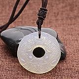 AMORWING Chinese Totem God Animal Pixiu White Agate