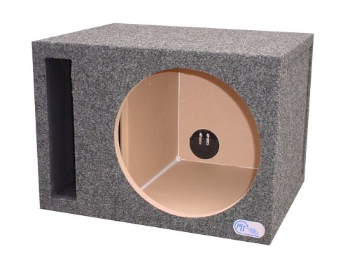 R/T 300 Enclosure Series (314-12) - Single Slot Vented 12-Inch Sub Bass Hatchback Speaker Box