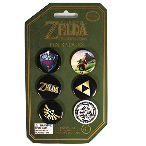 Paladone The Legend of Zelda Pin Badges (Zelda Breath Of The Wild Thieves Hideout)