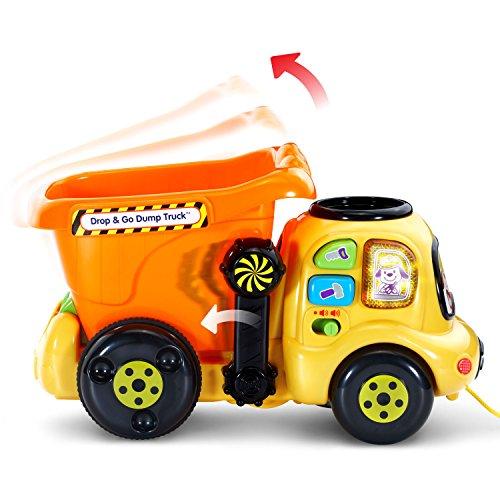 VTech Drop and Go Dump Truck Amazon Exclusive,Orange