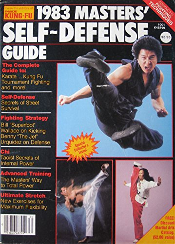 1983 Masters' Self-Defense Guide Magazine James Lew Bill Wallace Cover
