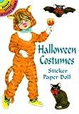 Halloween Costumes Sticker Paper Dolls, Barbara Steadman, 0486405192