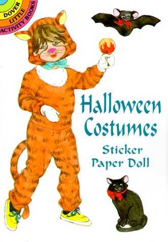 Halloween Costumes Sticker Paper Doll (Dover Little Activity Books) -