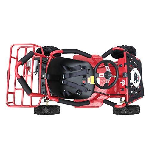 ZXTDR Electric Go Kart For Kids with Powerful 48v 1800w