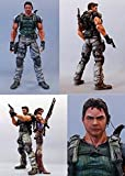 Resident Evil Square Enix Play Arts 5 Deluxe 9 Inch Action Figure Chris Redfield