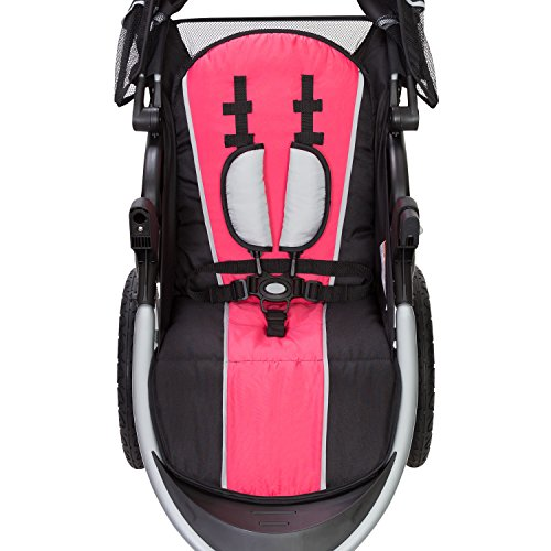 Baby Trend Pathway 35 Jogger Stroller, Optic Pink by Baby Trend (Image #2)