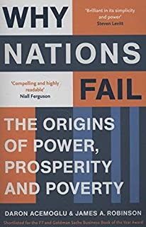 Why Nations Fail: The Origins of Power, Prosperity and Poverty price comparison at Flipkart, Amazon, Crossword, Uread, Bookadda, Landmark, Homeshop18