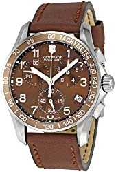 Victorinox Swiss Army Men's 241151 Chrono Classic Brown Dial Watch