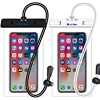2-Pack Ace Teah IPX8 Universal Waterproof Smartphone Pouches
