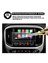 2015 2016 2017 2018 GMC Canyon INTELLILINK 8-Inch Car Navigation Screen Protector,GMC Infotaintment System RUIYA HD Clear TEMPERED GLASS Screen Protective Film